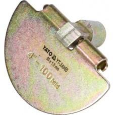 Скребок сменный оцинкованный для чистки канализационных труб (для YT-24980)