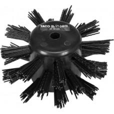 Щётка 10см. для системы чистки канализационных труб (для YT-24980)