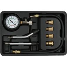 Компрессометр для бензиновых двигателей 0-2MPa (8пр.)