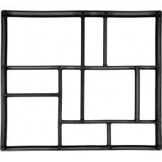 Форма для имитации плитки в свежем бетоне 450х400х40мм PP
