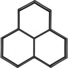 Форма для имитации плитки в свежем бетоне 360х360х40мм PP