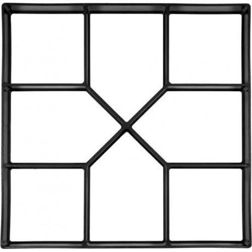 Форма для имитации плитки в свежем бетоне 400х400х40мм PP
