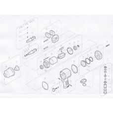 Прокладка уплотняющая для IW-456