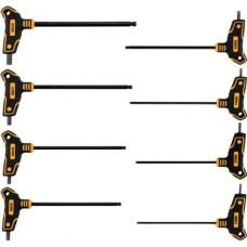 """Ключи c T-образной ручкой с шариком HEX 2,5-10мм (набор 8пр.) """"Vorel"""""""