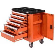 Ящик для инструмента передвижной 6 шуфляд 900х840х460мм
