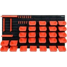 Панель пластмассовая для инструмента 475х272/15мм (набор 48 частей)