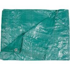 Тент 4x6м 57гр/м2 зелёный