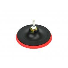 Насадка резиновая шлифовальная 125мм М14 с липучкой + адаптер