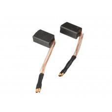 Электроугольная щетка 6х8x14мм поводок, клемма-мама для УШМ 125мм B&D (2шт.)