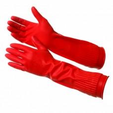 GWARD ROSE Перчатки латексные, удлиненные, вес 100 грамм (размер 7 (S))
