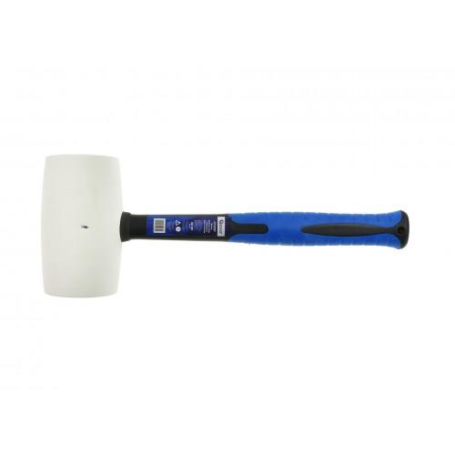 Молоток резиновый с фиберглассовой ручкой 32 OZ/1100гр. (белый)