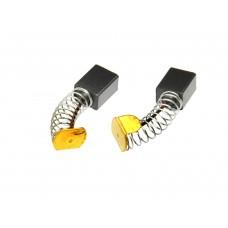 Электроугольная щетка 6х8х10мм пружина, пятак-ухо для УШМ Ferm (2шт.)