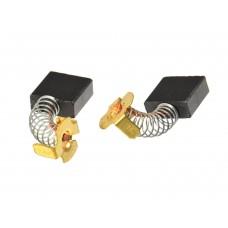 Электроугольная щетка 7х17х18мм пружина, пятак-уши для УШМ 230мм. Makita (2шт.)