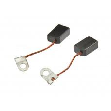 Электроугольная щетка 6х10х15мм поводок-флажок для насоса (2шт.)