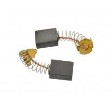 Электроугольная щетка 6,3х13,3х16,5мм пружина, пятак-уши для Makita CB152 (2шт.)