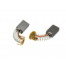 Электроугольная щетка 6х10х15мм пружина, пятак-уши для Makita CB100 (2шт.)