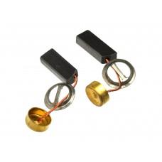 Электроугольная щетка 5х8х20мм поводок, пятак (2шт.)