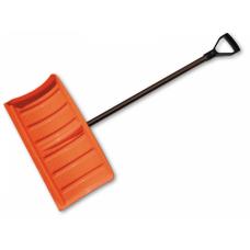 Лопата-скрепер для снега 55см. с металлическим черенком