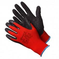 GWARD Red Перчатки нейлоновые с текстурированным латексным покрытием  (размер 8 (M))