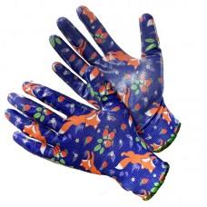 GWARD Fiesta FOXY Перчатки нейлоновые с нитриловым покрытием (размер 7 (S))