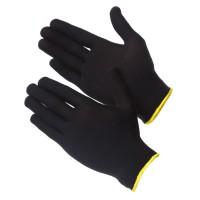 GWARD Touch Black Перчатки нейлоновые черного цвета без покрытия  (размер 9 (L))