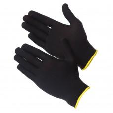 GWARD Touch Black Перчатки нейлоновые черного цвета без покрытия  (размер 7 (S))