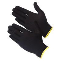 GWARD Touch Black Перчатки нейлоновые черного цвета без покрытия (размер 10 (XL))