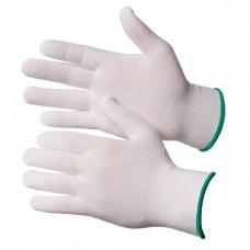 GWARD Touch Перчатки нейлоновые белого цвета без покрытия  (размер 8 (M))