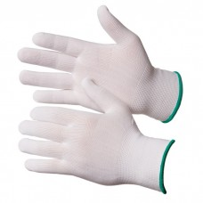GWARD Touch Перчатки нейлоновые белого цвета без покрытия (размер 10 (XL))