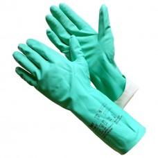 GWARD RNF15 Перчатки из нитрила, зеленого цвета  (размер 7 (S))