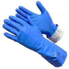 GWARD SL1 Перчатки из латекса и нитрила, синего цвета  (размер 8 (M))