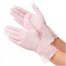 GWARD DELTAGRIP Ultra LS Перчатки нитриловые неопудренные розового цвета (размер  9 (L))