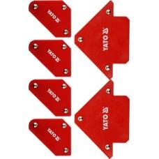 Струбцины магнитные для сварки (набор 6шт.)