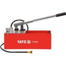 Ручной насос для проверки давления 490х160х165мм,  0-5MPa, G1/2, 12л.