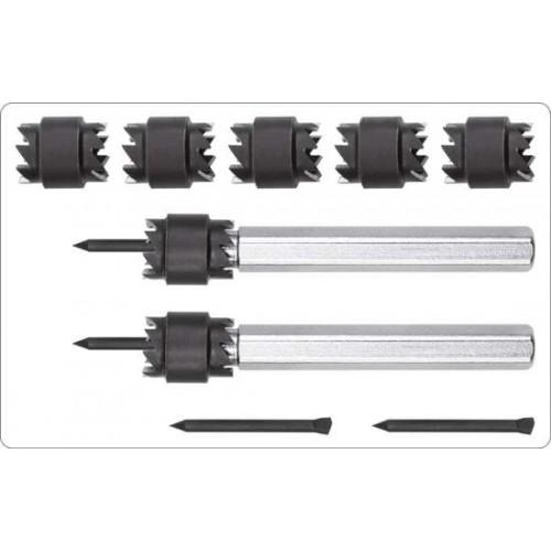 Свёрла по металлу для высверливания точечной сварки 8, 10мм. (набор 9пр.)