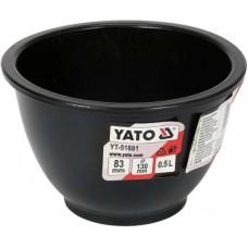 Емкость резиновая для замешивания гипса d130мм., высота 83мм., 0,5л.