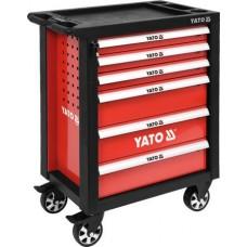 Ящик для инструмента передвижной 6 шуфляд 975х765х465мм