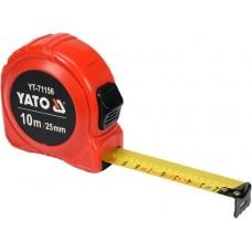 Рулетка 10мх25мм NYLON (бытовая)
