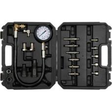 Компрессометр, набор для измерения компрессии дизельного двигателя 7MPa (19пр)