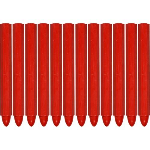 Мелки технические для разметки 12шт. (красные)