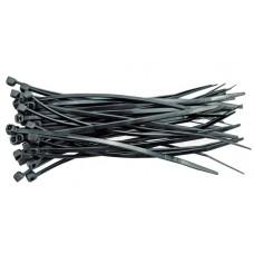 Хомут пластмассовый черный 280х4,8мм (100шт)